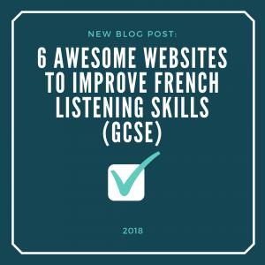 6 LFrench Listening Websites for GCSE