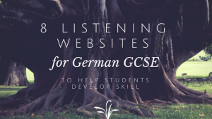 8 german listening websites for GCSE