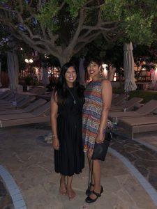 Posing in Creta Maris Hotel