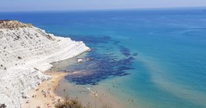 Views of White Cliffs Sicily