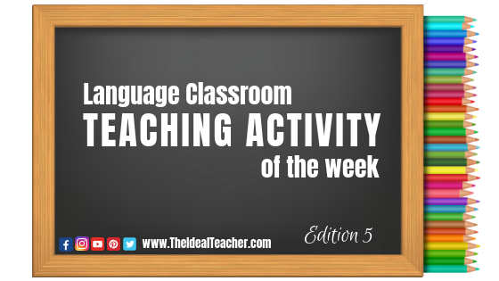 TEACHING TIP OF THE WEEK Edition 5
