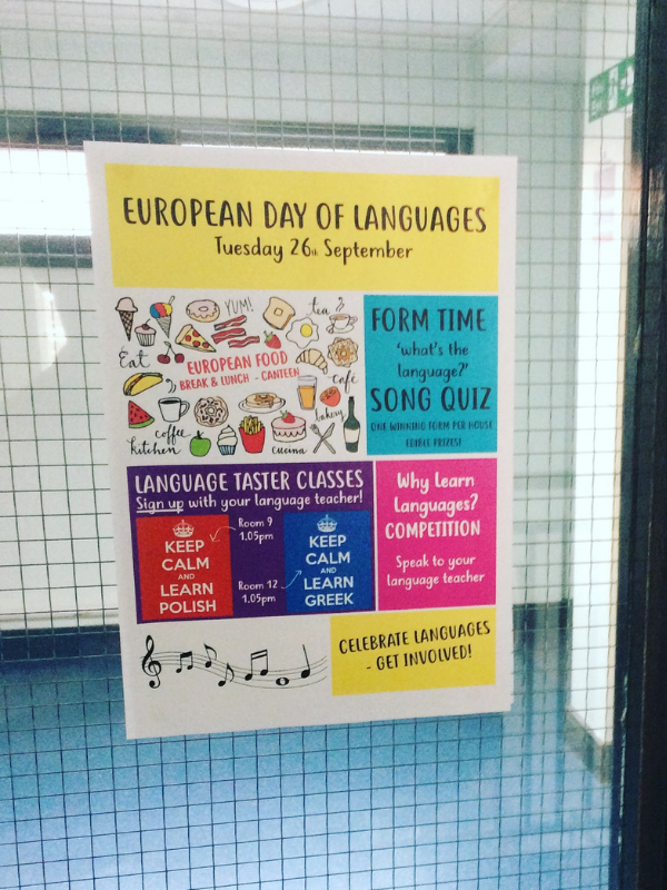 european day of languages - header slide