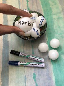 ping pong ball name generator