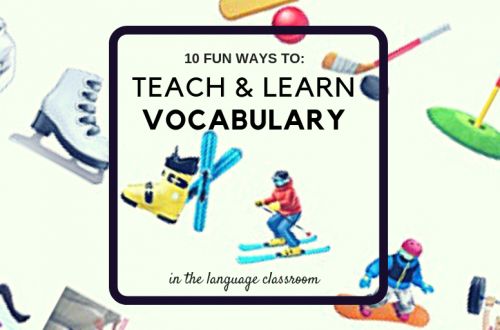 10 fun ways to teach and learn vocabulary Instagram