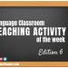 Language Classroom Teaching Tip Of The Week