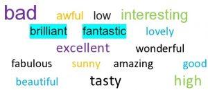 highlighting vocabulary