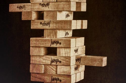 jenga activity for spontaneous speaking