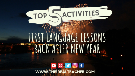 When Does Christmas Break Start.First Lesson After Christmas Break Top 5 Activities For