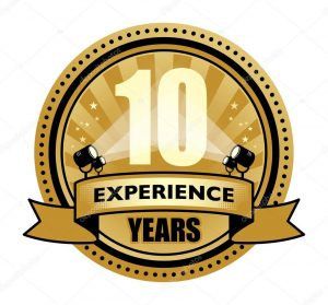 10 years language teaching experience
