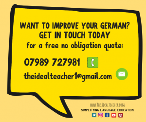 private German tutor in the local area