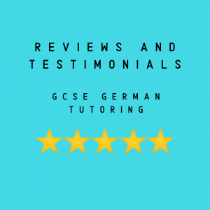 gcse german tutor reviews