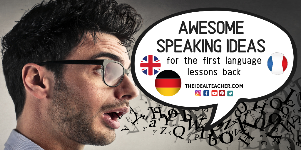 Awesome Speaking Ideas First German French Language Lessons Back