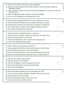 German speaking questions first lesson back
