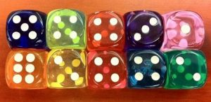 fun games for the mfl classroom with dice