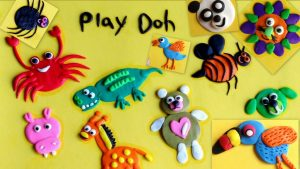 playdough animals