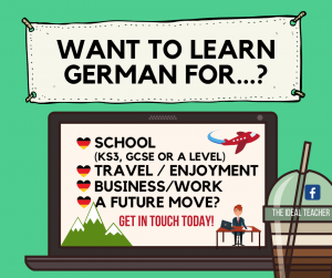 Private German teacher near Spalding Bourne Boston Peterborough