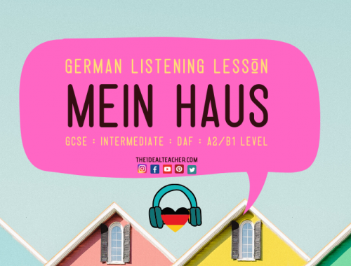 German My House Listening Practice Lesson Revision
