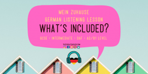 Mein Zuhause German Listening Practice Lesson