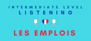Work Options Careers French Jobs Listening Revision Lesson