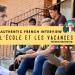 l'ecole et les vacances french listening practice interview clip