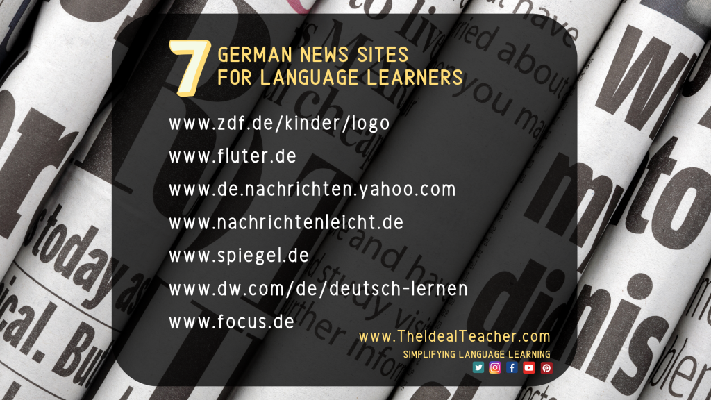 German News Websites For German Learners