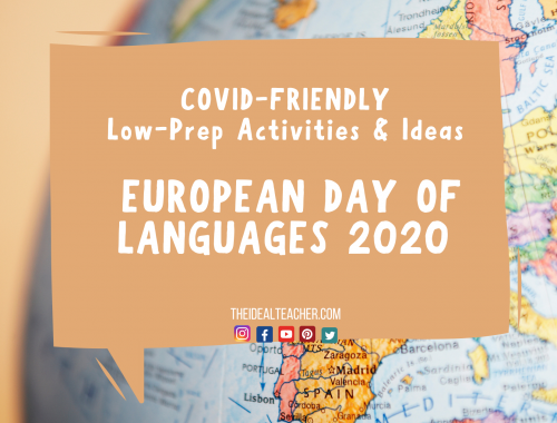 COVID-friendly European Day of Languages Activities 2020