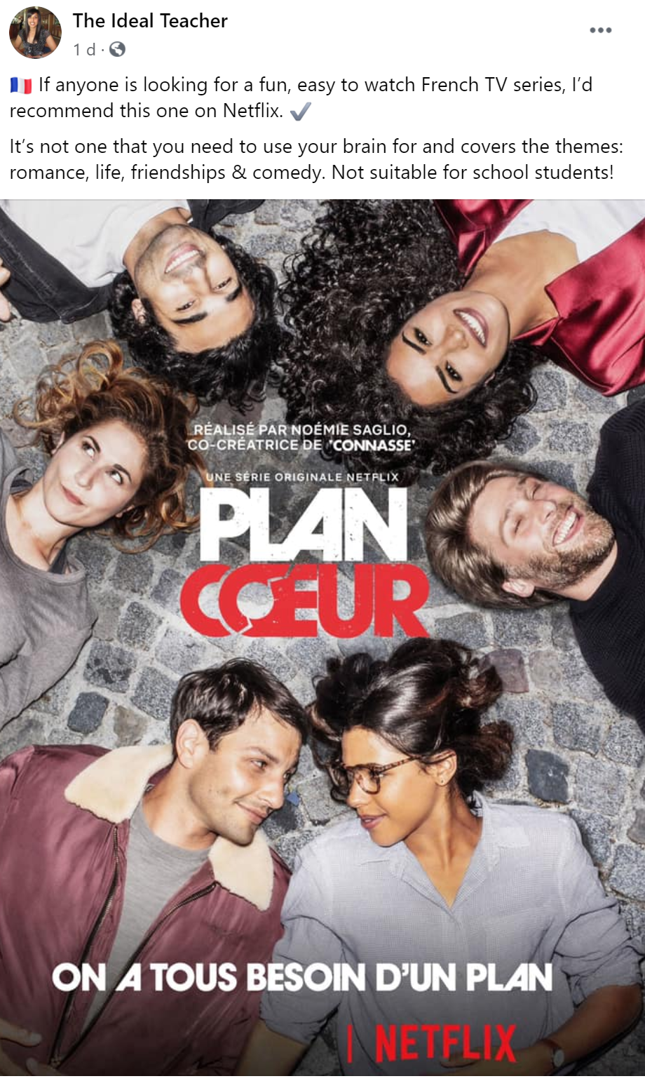 Plan Coeur Hook Up Plan Bingeworthy French TV Show