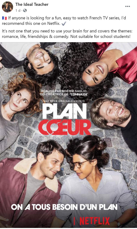 Plan Coeur Hook Up Plan Bingeworthy French TV Show