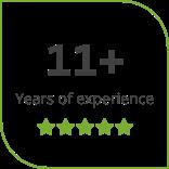 11 years of teaching experience